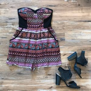 Sleeveless, Padded Romper!